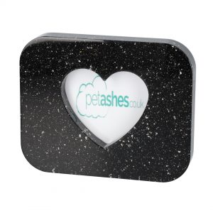 Rectangle Heart photo frame