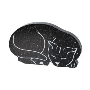 cat cremation paperweight
